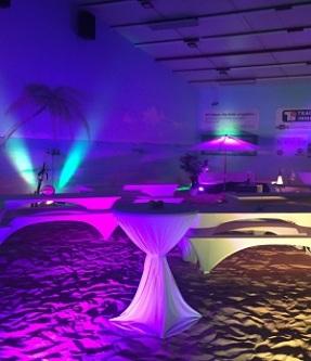 Santa Fe Beach Halle / Eventlocation für